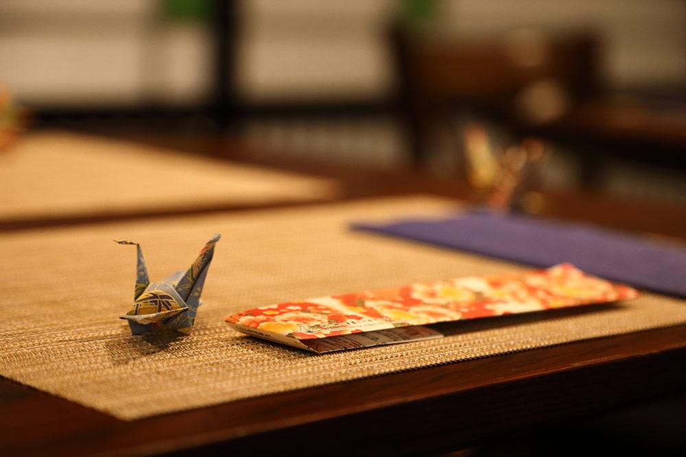 浅草 和食 折紙1