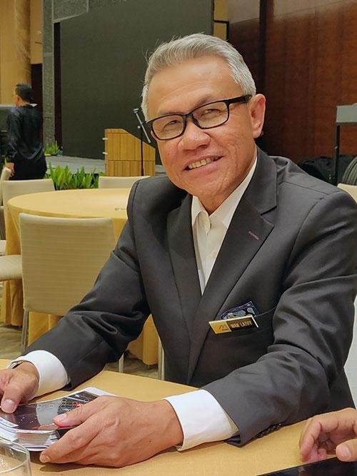 マレーシア貿易開発公社CEO ワン・ラティフ・ワン・ムサ氏