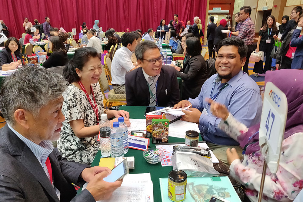 Japanese buyer joins business talk arranged by MATRADE