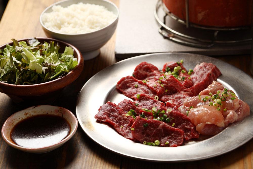 ハラル対応の牛肉を使用した焼肉